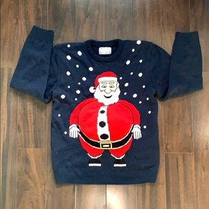 🎅🏼Men's Santa Belly Ugly Christmas Sweater
